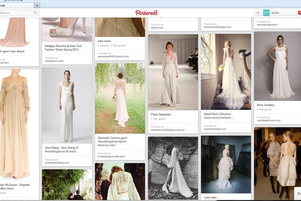 Pinterest vestidas de boda