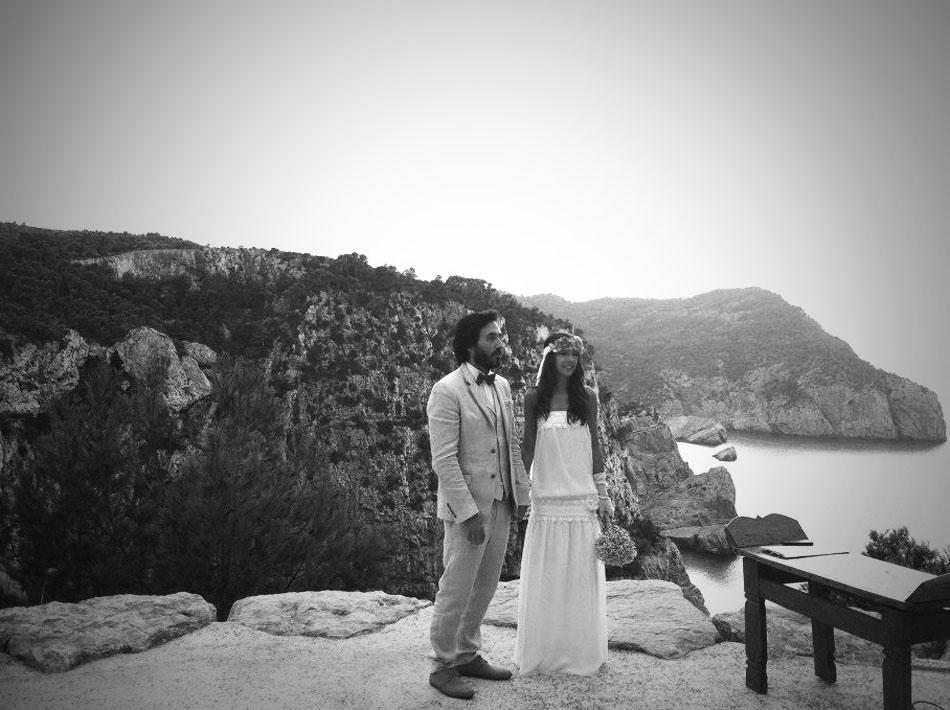 boda acantilado Ibiza