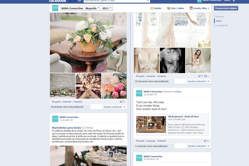Página Facebook Nara Connection