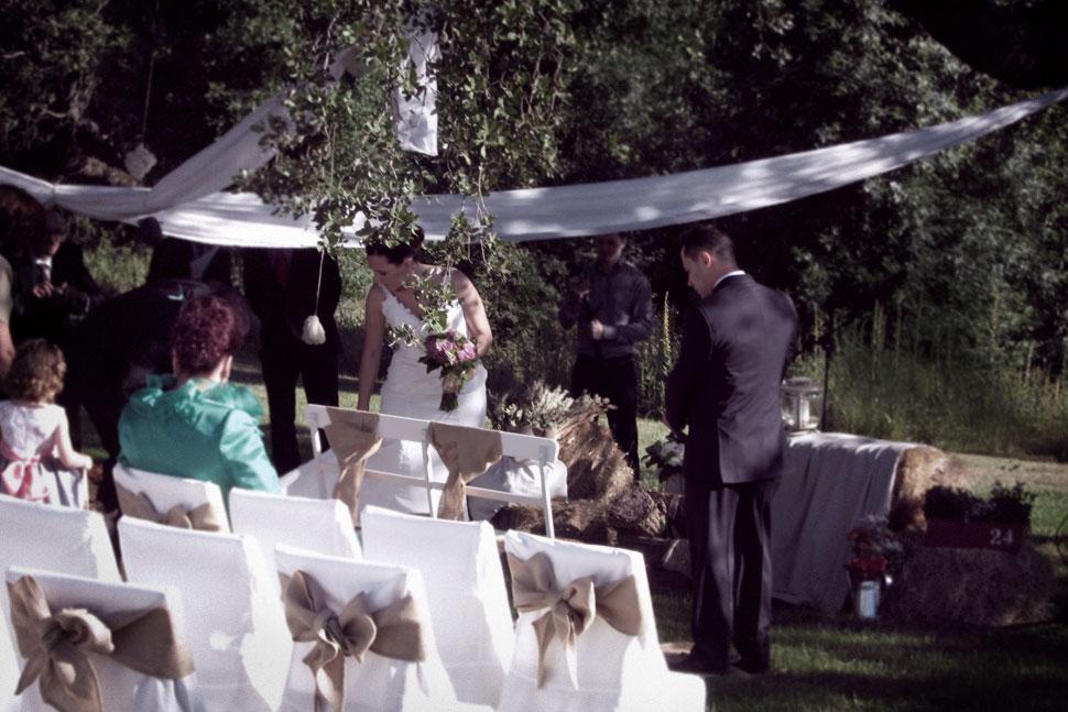 Ceremonia boda rústica