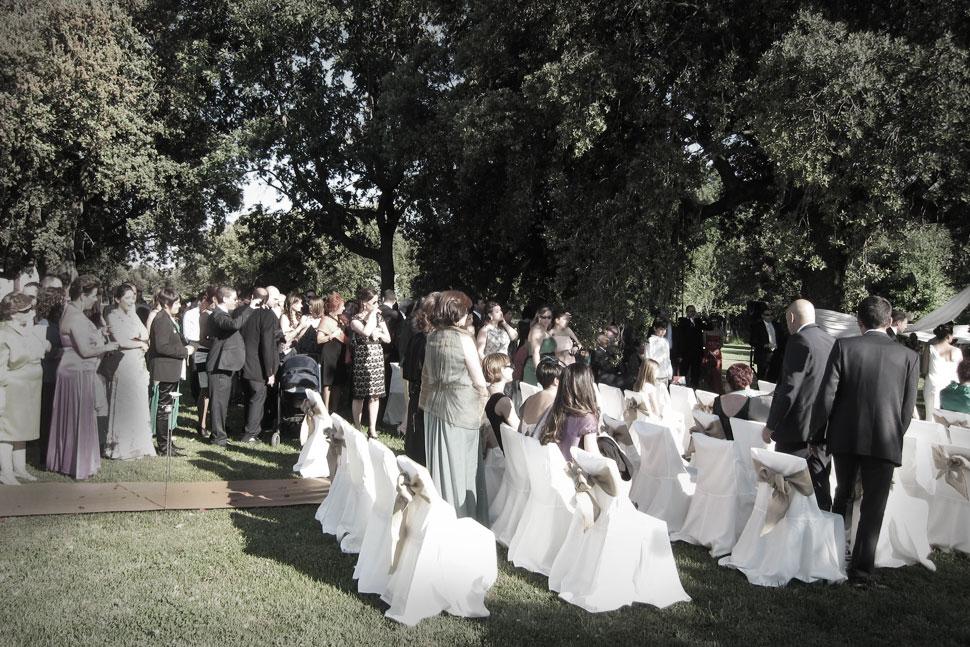 Ceremonia finca Madrid