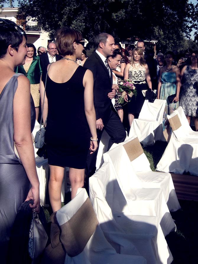 Paseo de la novia