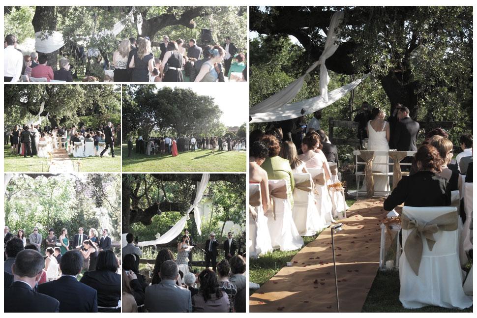 Ceremonia de Bea y Dani