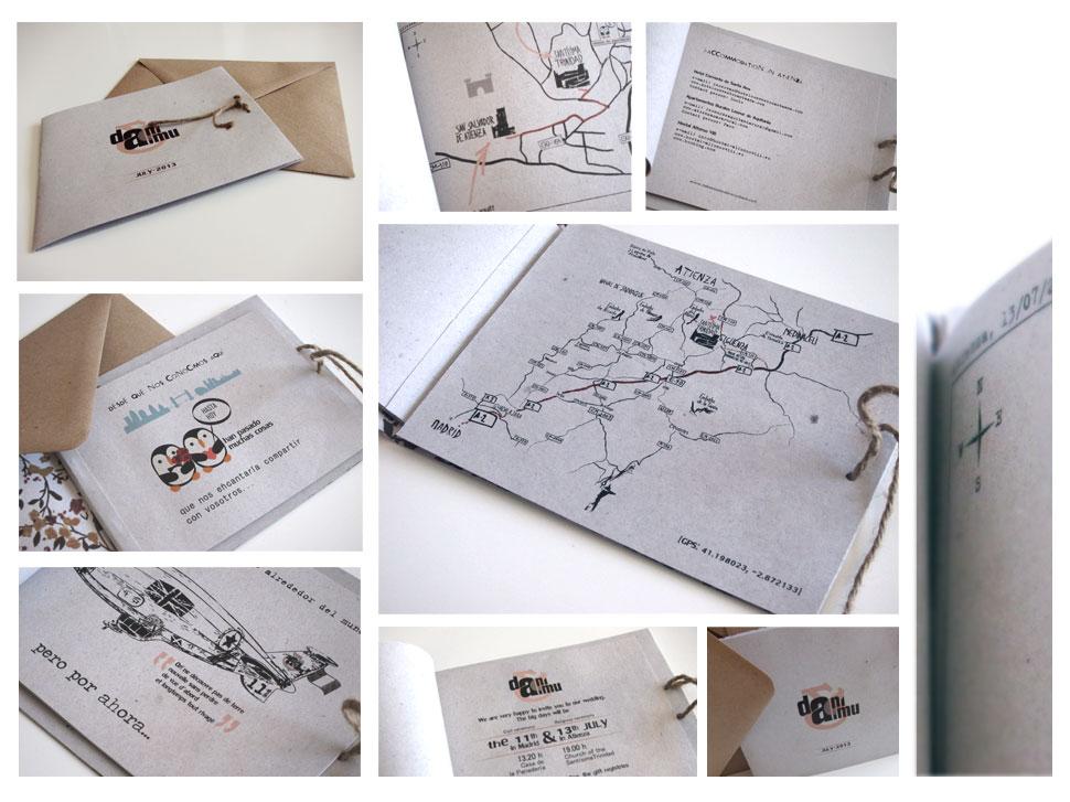 Invitaciones cuadernillo